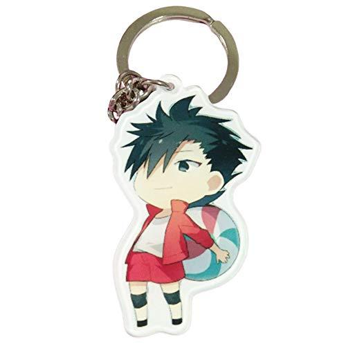 SGOT Anime Haikyuu Schlüsselanhänger, evebel Acryl Anhänger, Kageyama Tobio / Hinata Shoyo Keyring, Dekoration für Anime Lovers( Style 01)