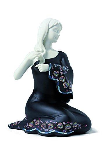 Nadal Pequeña Figura Decorativa timidez, Resina, Multicolor, 11.20x9.50x17.50 cm