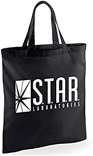 Flash Star Labs Logo Tote Bag
