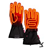 Gerbing Gyde S7 Men's Heated Gloves – 7V Rechargeable Battery Powered Electric Heat Gloves - Hands Warmer for Cold Weather Hunting, Skiing, Outdoor Camping, Motorcycle Riding - Black