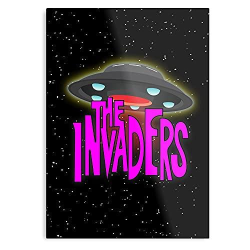 Genérico Alien Invaders FI Rinvader Zim Aliens Sci Nask Invader – Póster de arte tendencias decorativas pintura arte arte pared para dormitorio