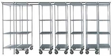 7 Unit price SPACE TRAC Storage 14 Long Poly-Z-Brite Max 61% OFF Shelving Ft.