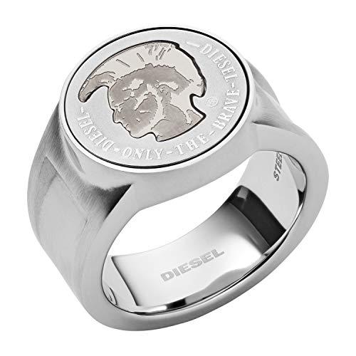 Diesel Herren-Ringe Edelstahl mit '- Ringgröße 56 DX1202040-8
