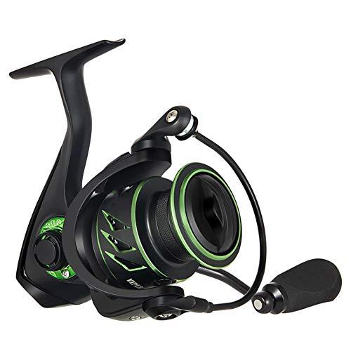 Bait reel Relación de pesca de hilado Relación de engranajes altas 11 rodamientos de alta velocidad 4-15kg Max Drag Pesca Reels reel (Spool Capacity : 5000 Series)