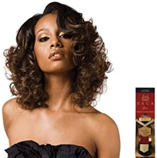 SAGA GOLD Remy Human Hair Weave - AKSENT CURVE REMY 12