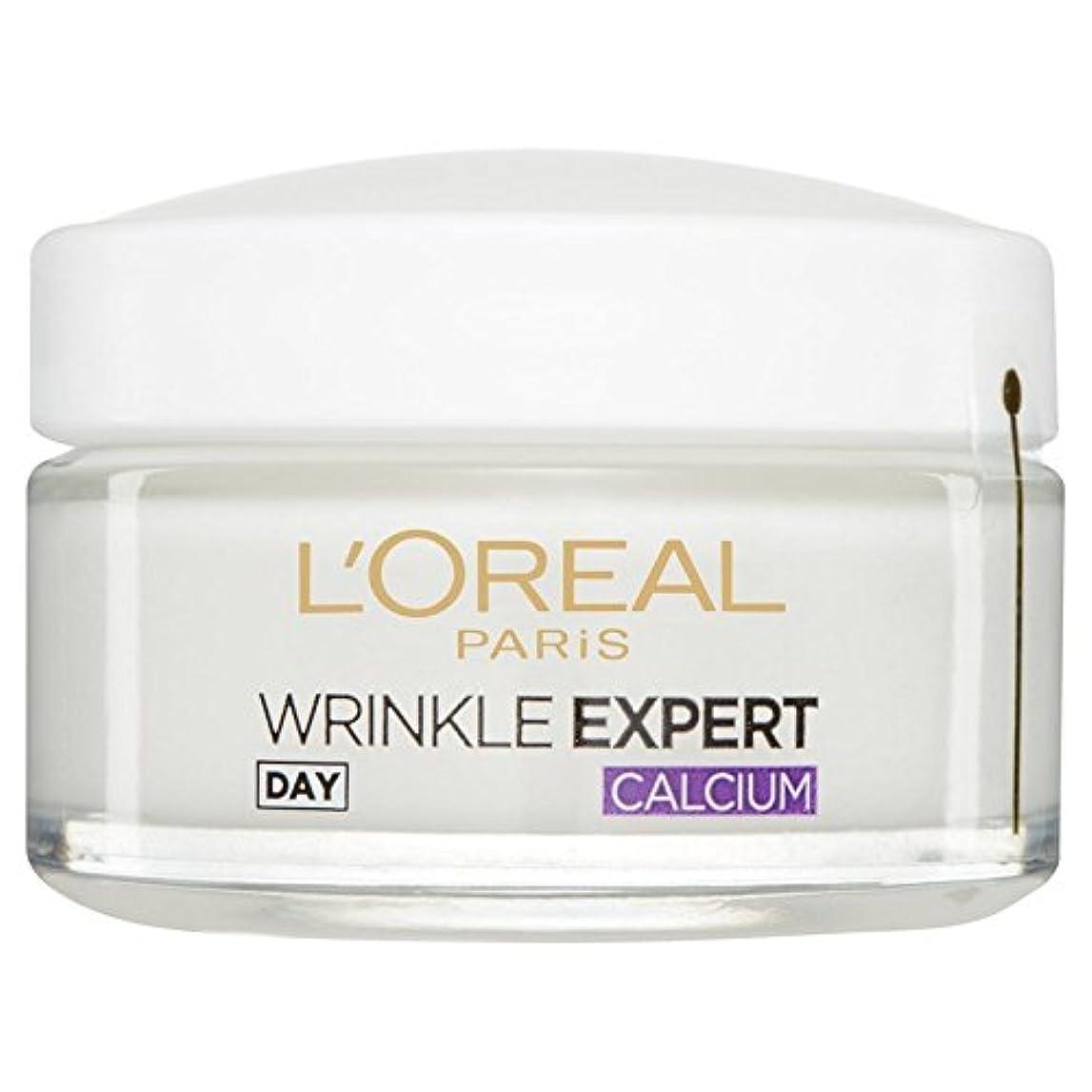 うがい薬空港花L'Or?al Paris Dermo Experties Wrinkle Expert 55+ Calcium Day Pot 50ml (Pack of 6) - ロレアルパリ?ダーモしわの専門家55+カルシウム日間のポット50ミリリットルを x6 [並行輸入品]