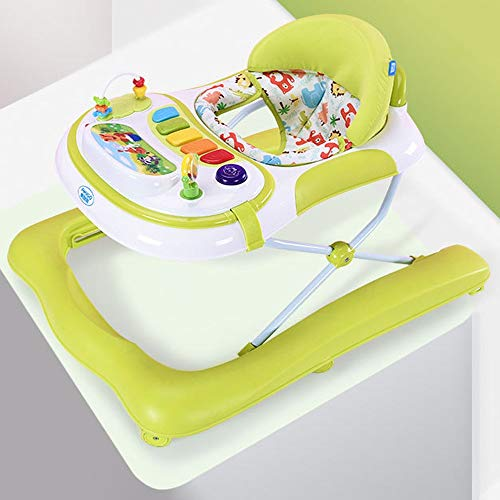 Best Buy! Limaomao Baby Walker with Wheel 5-Speed Height Adjustable U-Shaped Walker for 6 Months to ...