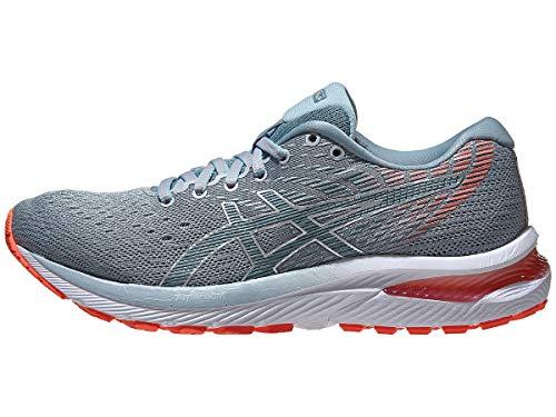 ASICS Women's Gel-Cumulus 22 Running Shoes, 8M, Piedmont Grey/Light Steel