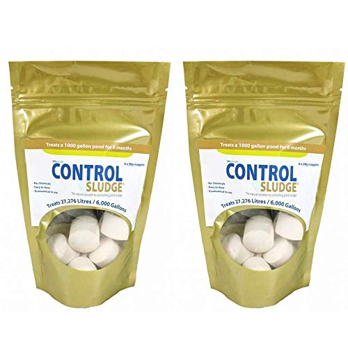 Swell UK Control Pond Sludge Remover and Pond Cleaner - 2x6pack (12 nuggets)