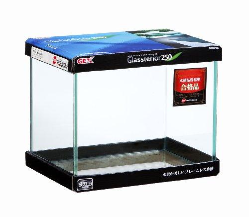 ジェックス グラステリア250水槽 フレームレス水槽