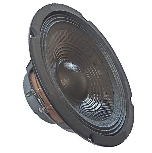 "Altoparlante subwoofer woofer ricambio casse acustiche diametro 20 21 cm 4 8 Ohm 8"" pollici 200w sospensione rigida 200mm (4 Ohm)"