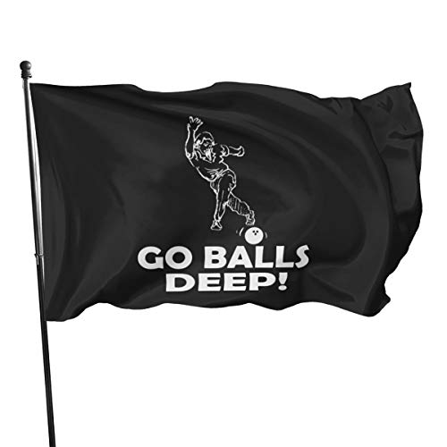 N/ Bowling-Shirt für Geschenk-Tassen, mit Kapuze und Flagge, 91 x 152 cm