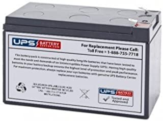 B&B HR1234W 12V 9Ah Sealed Lead Acid Replacement Battery with F2 Terminals
