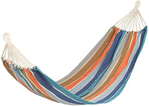 Zixin Hamaca de Sentarse y levantarse, Acampar al Aire Libre Individual Doble Lienzo Hamaca Hamaca Explorador de Ocio al Aire Libre Hamaca, 1 (Color : 2)