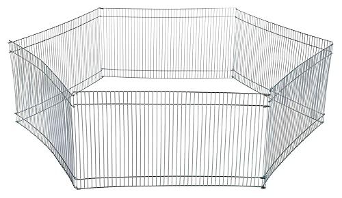Trixie Enclos Galvanisé 6 Éléments 48 × 25 cm pour hamsters, souris et autres rongeurs