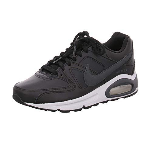 Nike Air Max Command - Zapatillas de correr para hombre, de piel, color gris, talla 36 EU, color Rojo, talla 44 EU