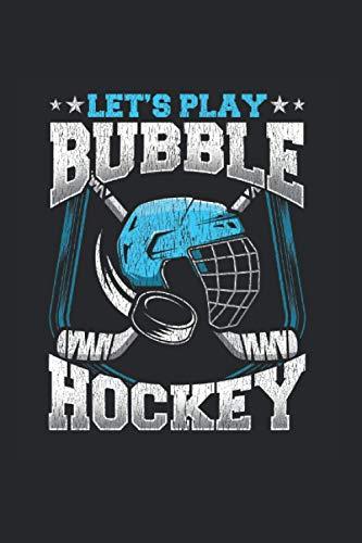 Bubble Hockey: Spielen wir Bubble Hockey Blue Ice Hockey Fan Notizbuch DIN A5 120 Seiten für Notizen Zeichnungen Formeln | Organizer Schreibheft Planer Tagebuch