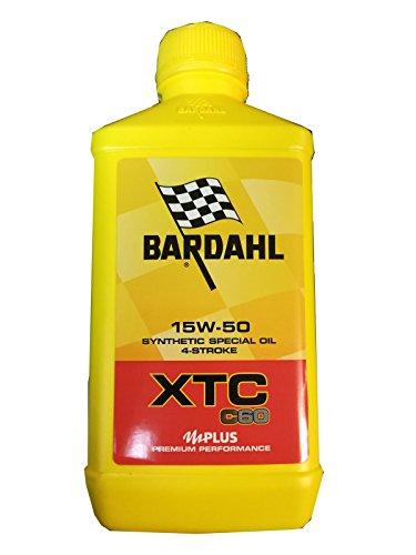 Bardahl Olio Moto XTC C60 15W-50 Sintetico 4 Tempi 1 LITRO - 324140