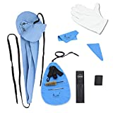 10-in-1 Saxophone Cleaning Kit, Alto Saxophone Cleaner Kit Including Sax Cleaning Cloth, Mouthpiece Brush, Mini Screwdriver Cleaning Cloth for Flute and Wind & Woodwind Instrument