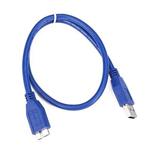 Greatangle-UK Cable USB 3.0 A a Micro B para WD Seagate para...