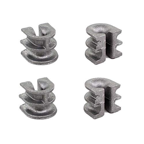 Aisen Lot de 4 Douille fil Guide pour Stihl voiture Cut 40–2 fils fils Débroussailleuse Tête FS160, FS220, fs280, FS300, FS310, fs350, fs360 C de E, FS400, fs410, fs450