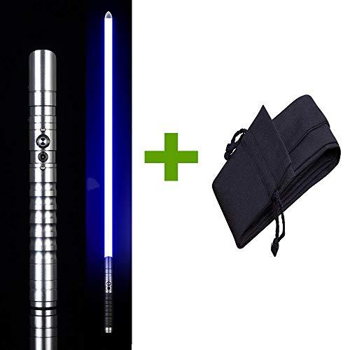 BTYKJ Star Wars Resplandor Sword Efecto de Sonido múltiple Iluminación Mango de Metal Monocromo Light Gift Toy Props