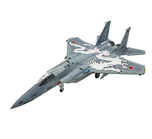JHSHENGSHI Modelo de avión a Escala 1/100, Fuerza de autodefensa Japonesa Militar Modelo F-15 Eagle Fighter, coleccionables y Regalos para Adultos