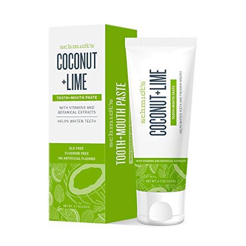 Schmidt´s Zahnpasta Coconut + Lime, 1er Pack (1 x 133 g)