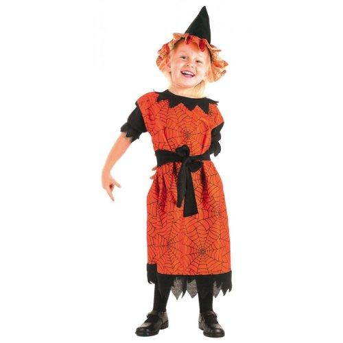 Witch spinnengewebe costume de sorcière à 4 j pour enfant