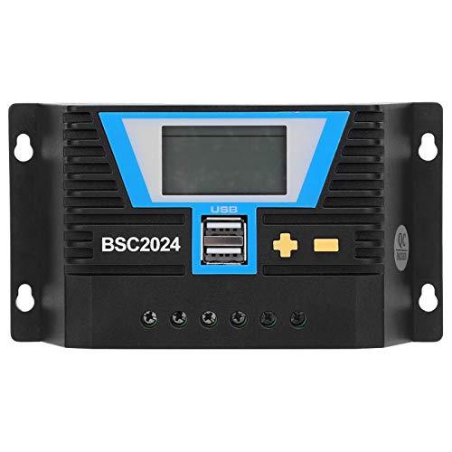Controlador solar 20A Solar Controlle BSC2024 para carga de batería