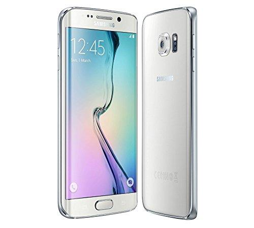 Samsung Galaxy S6 Edge G925 Smartphone, 32 GB, Hersteller Vodafone, weiß [Italien]