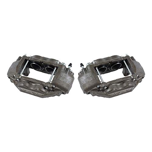 CCK11311 [2] FRONT Premium Grade OE Remanufactured Caliper Assembly Pair Set