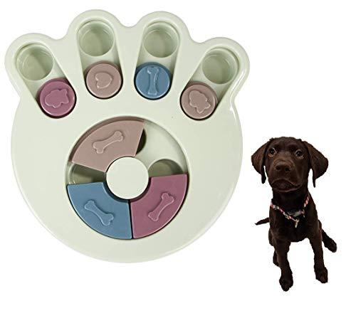 Smart Pet ペット 知育玩具 犬 猫 早食い防止 ペットトレーニング パズルボウル IQ UP! ゲーム おもちゃ Pet Bowl (GREEN)