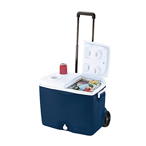Rubbermaid Home 0824-4394 Rubbermaid 45 Quart Wheeled Cooler FG2
