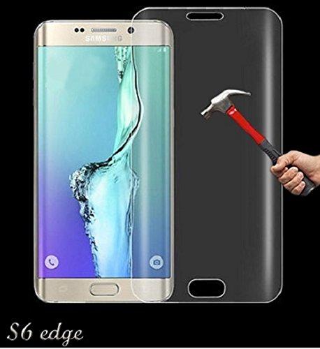 Oli Panzerglas Panzerfolie für Samsung Galaxy S6 Edge Schutzfolie Folie Klar