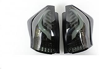 Valenti Jewel LED tail lamp Prius ? (ZVW40 / 41) Light smoke / black chrome TT40PRA-SB-1