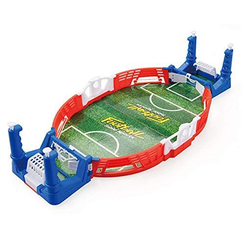 mysticall Mini Juego de Arcade de Mesa de fútbol, Mesa de Juego de futbolín Juguete Interactivo Juego de fútbol de Escritorio en Miniatura para niños Fiesta Familiar