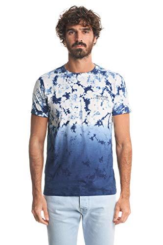 Salsa Camiseta Efecto Tie Dye con degradé