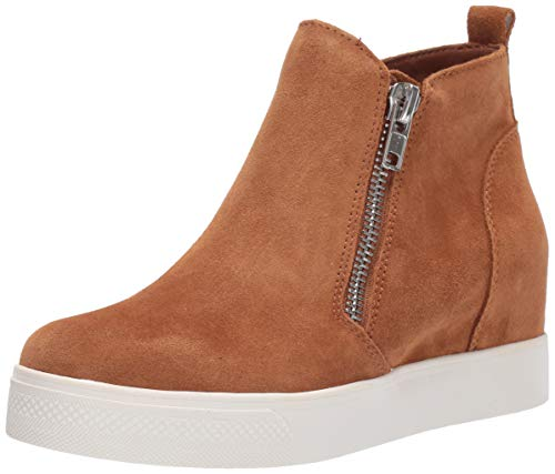Price comparison product image Steve Madden Women's Wedgie Sneaker,  Chestnut Suede,  6 M US