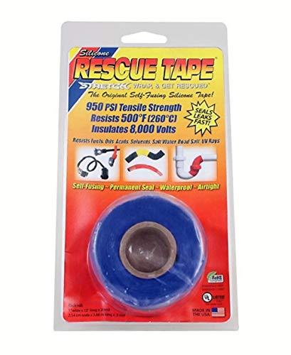 Rescue Tape   Self-Fusing Silicone Tape   Emergency Pipe & Plumbing Repair   DIY Repairs   Seal Radiator Hose Leaks   Wrap Electrical Wires   Used by US Military   1