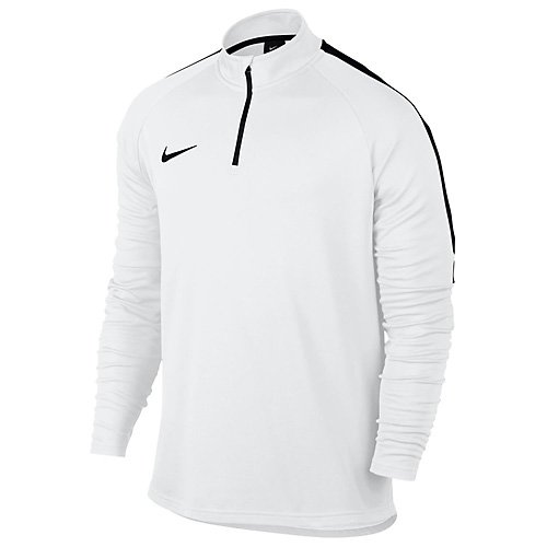 Nike Herren Dry Academy Drill Top, White/Black, S