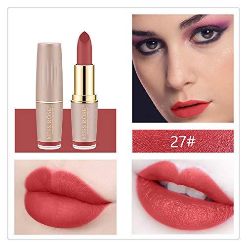 SEXYSHEEP Rouge à LèVres Mat Nude Hydratant Brillant Lisse LèVre BâTon Cadeau De Rouge à LèVres Pour Les Femmes