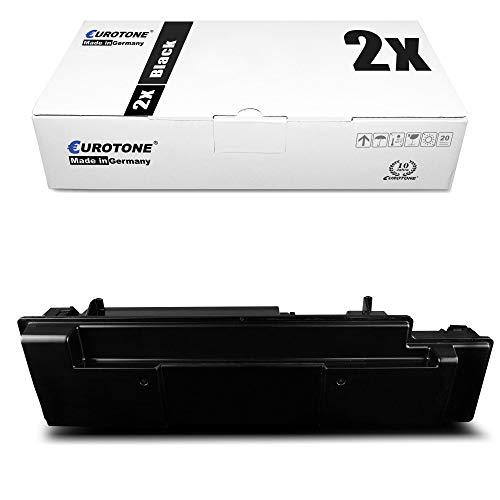 2x Eurotone Cartuccia Toner per Kyocera FS 3040 3140 3540 3640 3920 MFP DN Plus sostituisce 1T02J10EU0 TK350