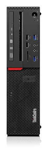 Lenovo ThinkCentre M800 Rechner, Intel Core Prozessor i5-6500 SFF der 6. Generation, 64-Bit, HDD, DVD ± RW, schwarz