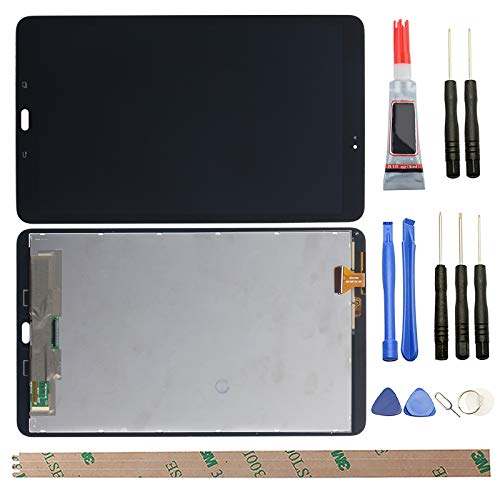 HYYT Replacement for Samsung Galaxy Tab A 10.1 2016 T580 SM-T580 T585 LCD Display Touch Screen Digitizer Assembly+Tools(Black)