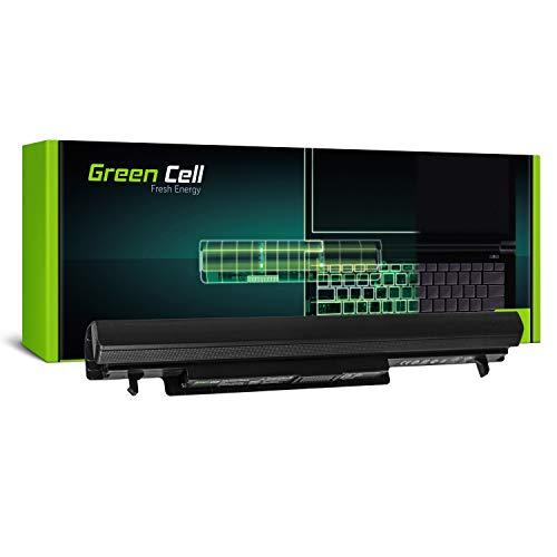 Green Cell® Standard Serie A41-K56 Laptop Akku für ASUS K56 K56C K56CA K56CB K56CM S56 S56C S56CA S56CB S56CM R550 R550C R550CA R550CB R550CM (4 Zellen 2200mAh 14.8V Schwarz)