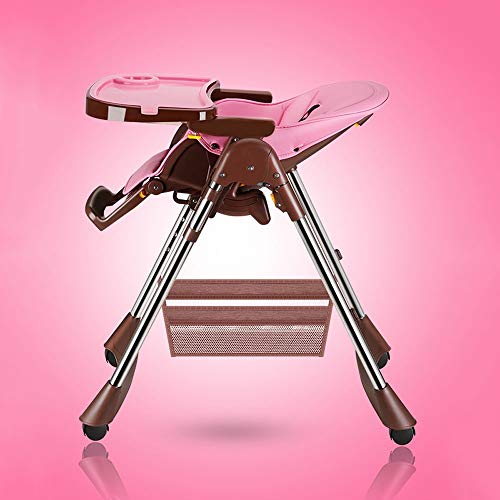 Buy Discount Jian E Baby high Chair - Stainless Steel + PP + PU, 6 Months - 4 Years Old Baby Multi-F...