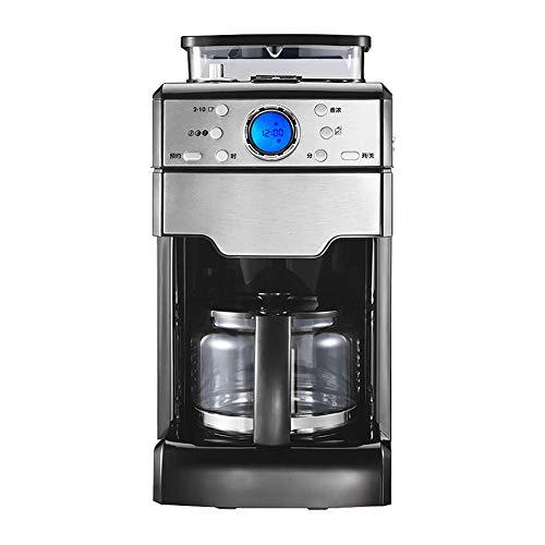 Domestic espresso machines,Full Automatic Coffee Machine, Home Office American Grinding Machine Drip Coffee Machine Bean Powder Dual Use Coffee Maker