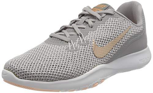 Nike Damen Flex Trainer 7 Print Fitnessschuhe, Grau (Atmosphere Grey/MTLC 006), 40 EU