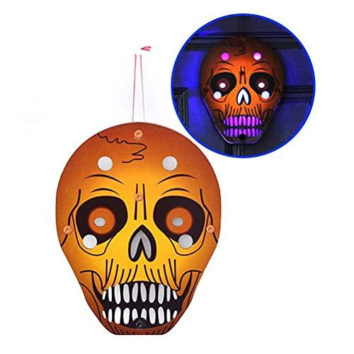 Ozgkee Spöke neon nattlampa LED-skylt, halloween hängande ljus dekorationer ljusslingor, skräck atmosfär färgglad dekoration festival nattlampor för inomhus utomhus dekorationer